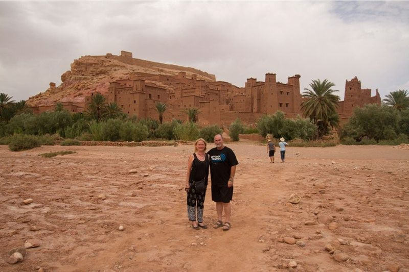 aussirose and Howie visit Ait Ben Haddou - Morocco