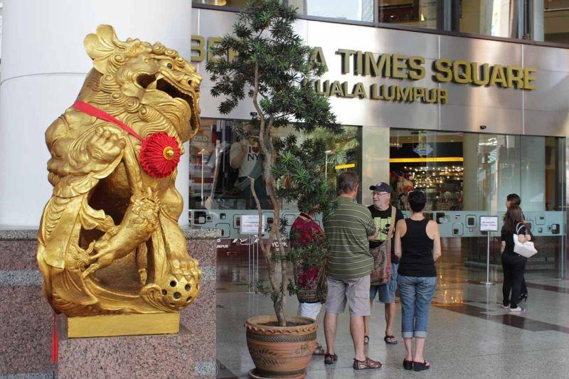 Shopping Times Square KL by aussirose - Kuala Lumpur