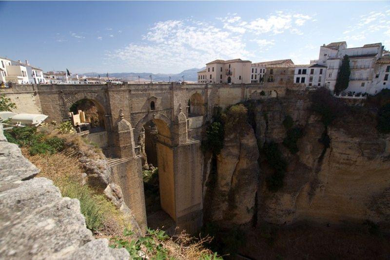 Majestic Bridge Ronda Spain by aussirose - Ronda