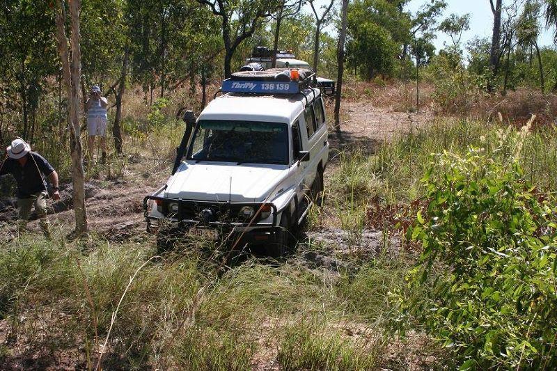 Bogged Darwin Survivor Outback 2008 - Arnhem Land NT