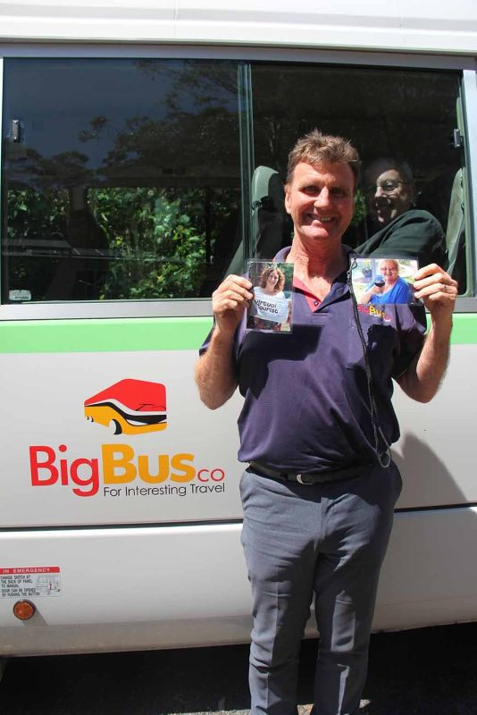VA's and Big Bus Company Driver Brian - Sydney