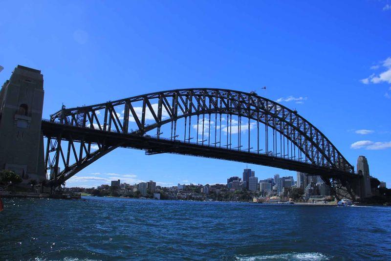 Sydney Harbour Bridge By Aussirose