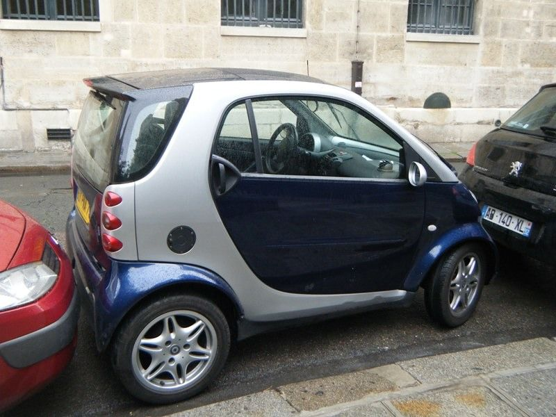 Expert parking in Paris -not for the feint hearted