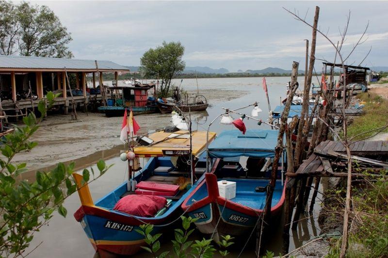 Quaint fishing village at Kuala Keriang Langkawi - Pulau Langkawi