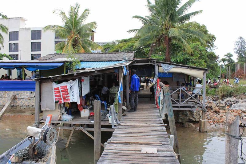 aussirose visits fishing village Port Dickson KL - Kuala Lumpur