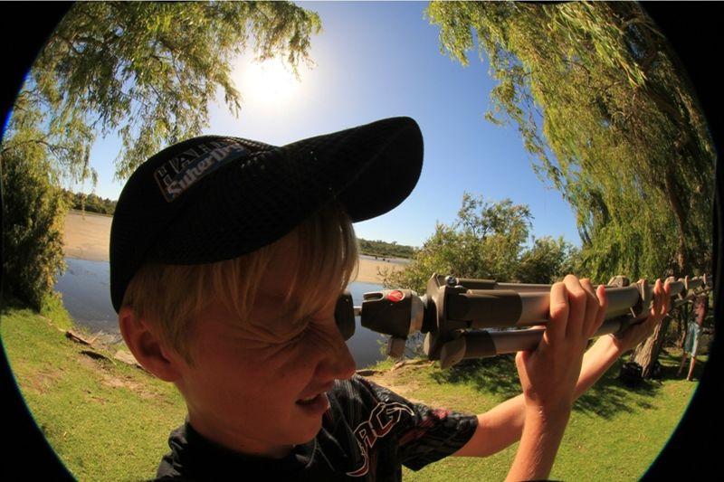 Canon 60D and Fisheye Lense pix by aussirose - Yanchep