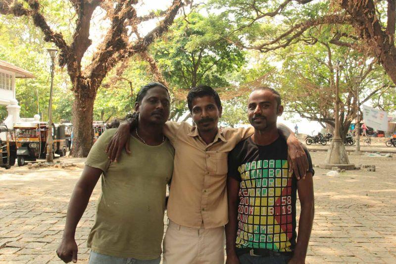 Anas Tuk Tuk Fort Kochi & mates show bargaining - Kochi