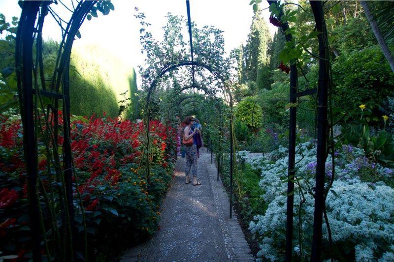 Lush gardens of La Alhambra by aussirose