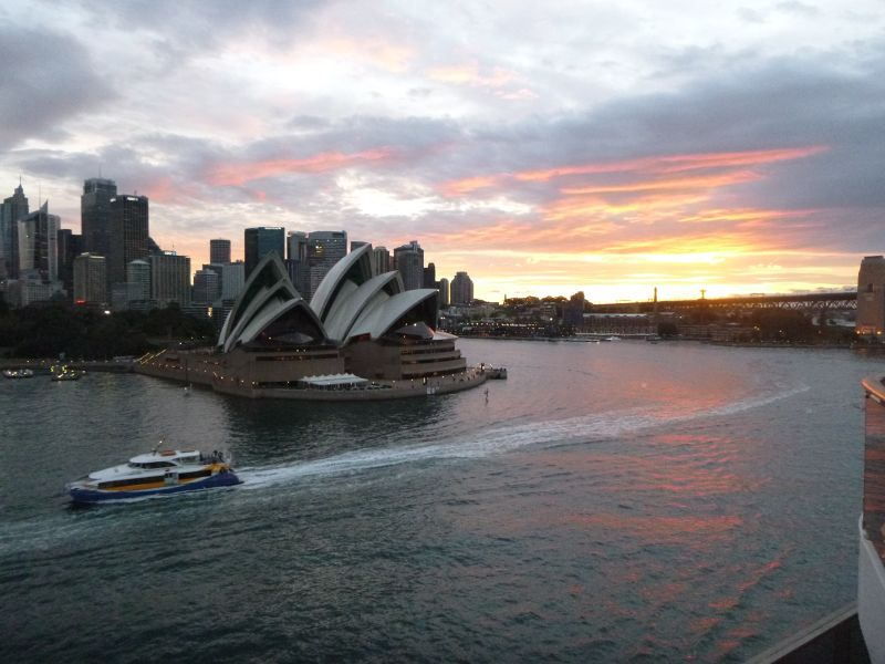 aussirose cruises out of Sydney on Carnival Spirit - Sydney