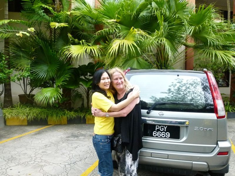 aussirose meets the Penang locals - Penang