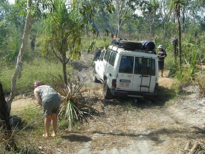 Bogged Darwin Survivor Outback 2008 - Kakadu National Park