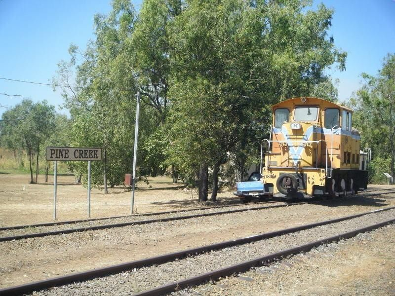 Pine Creek Railway Museum Northern Territory - Pine Creek