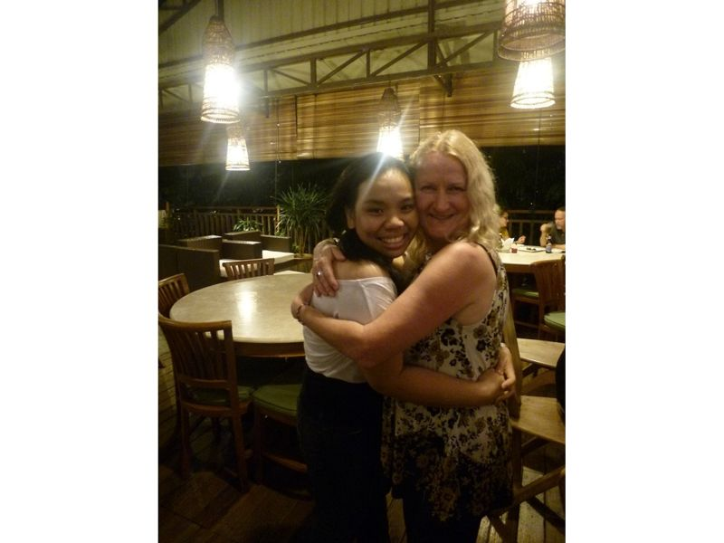 aussirose finally meets Utchie in KL 2012 - Kuala Lumpur