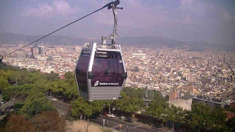 Cable Car Teleferic de Montjuic Barcelona - Barcelona