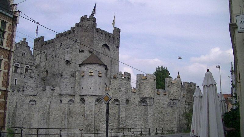 Gravesteen - Castle of Gent Belgium by aussirose - Gent