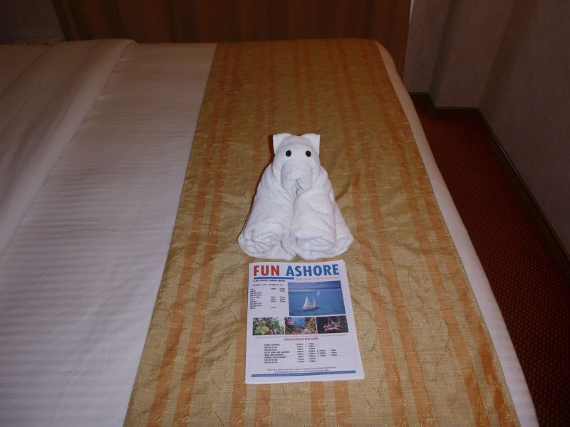 2016 VT Cruise - Carnival Spirit Towel animal by aussirose - Maré