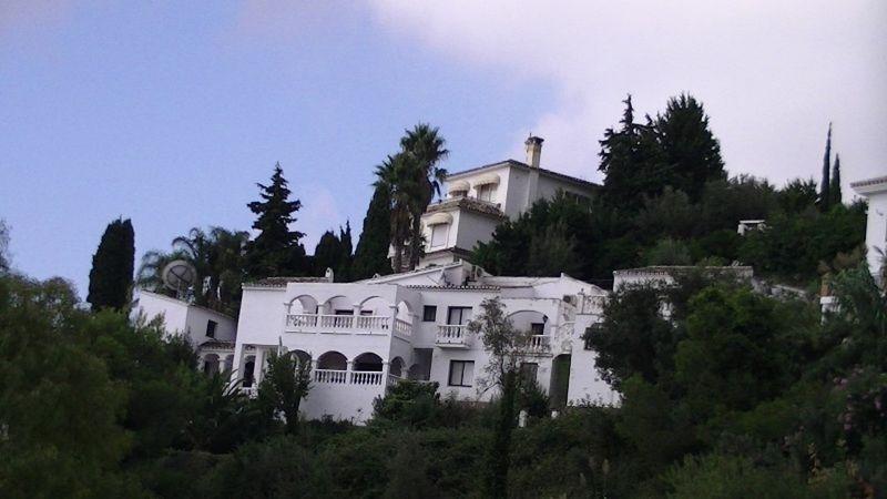 White houses near Mijas Spain by aussirose - Mijas