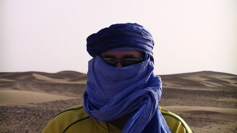 Nomad Howie in the Sahara Desert - Morocco