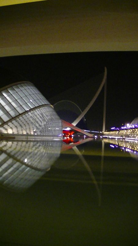 City of Sciences Valencia at night by aussirose - Valencia