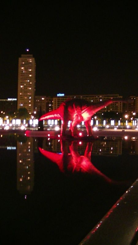 City of Arts and Sciences at night by aussirose - Valencia