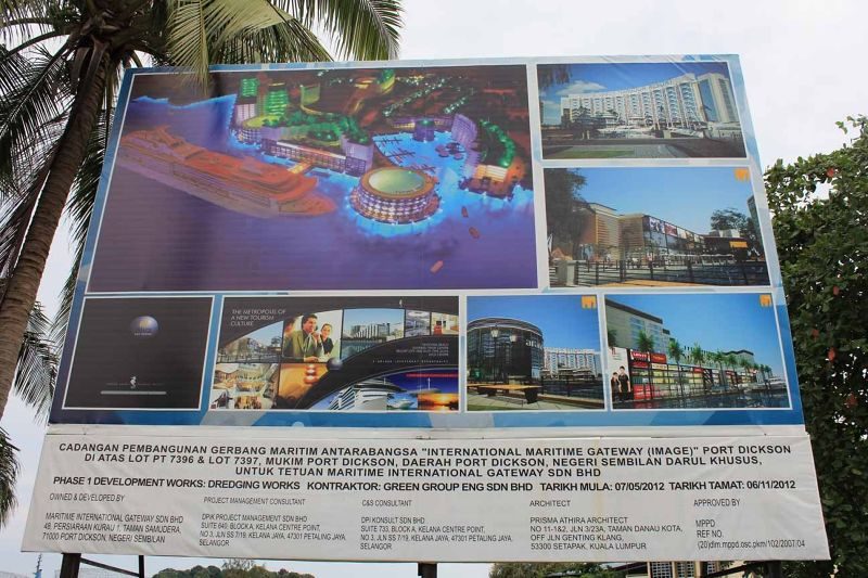 aussirose horrified by plans for Port Dickson KL - Kuala Lumpur