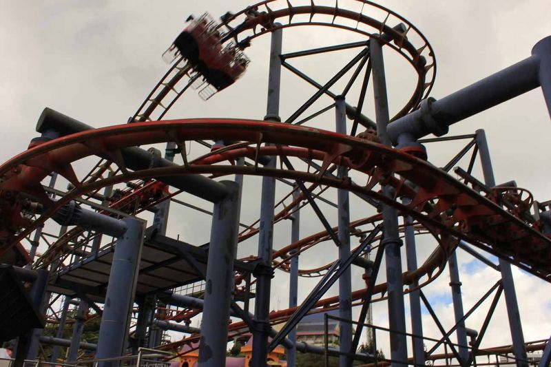 aussirose fears Flying Coaster Genting Highlands - Kuala Lumpur