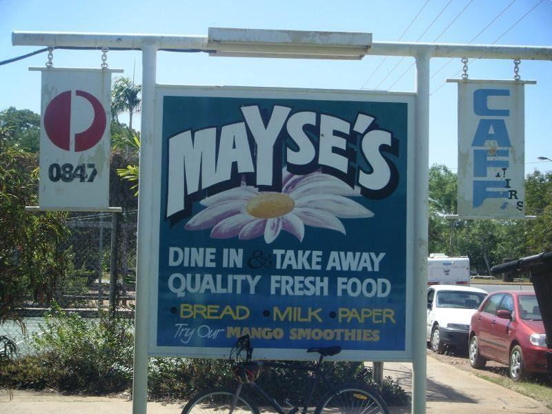 Mayse's Cafe Pine Creek Northern Territory - Pine Creek