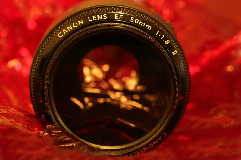 Canon 50mm in the red