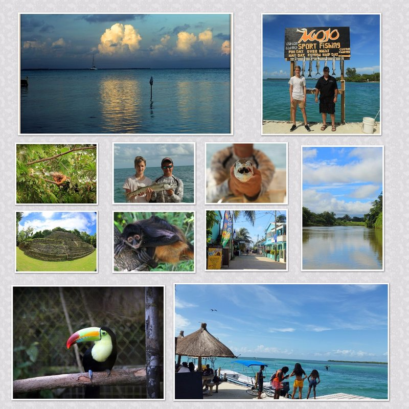 Belize-Collage