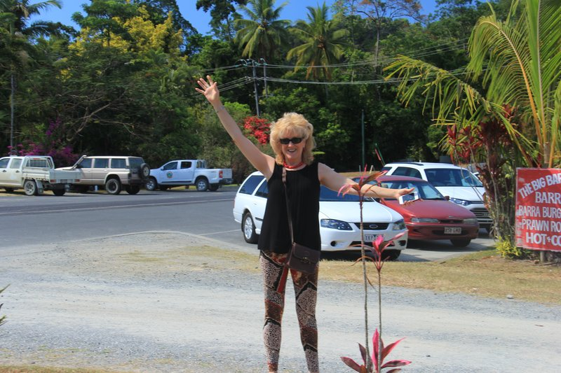 Colly Dolly at Daintree