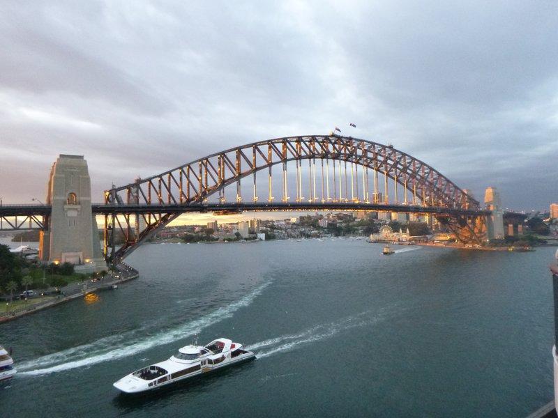 Cruising out - Bridge