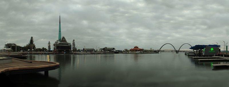 Elizabeth Quay Panorama