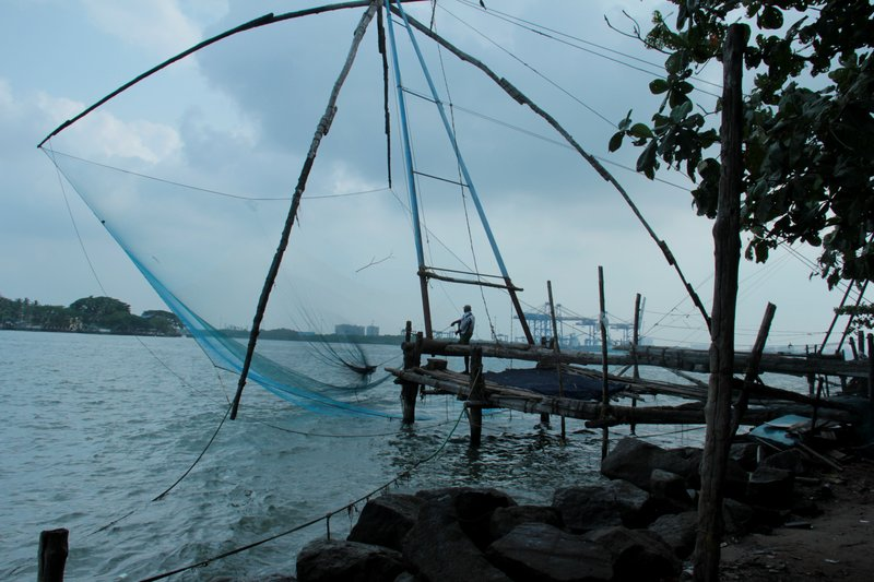Fishing Nets Blue