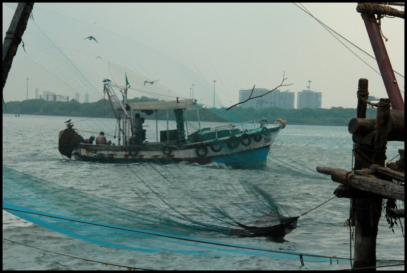 Fishing Nets Boat