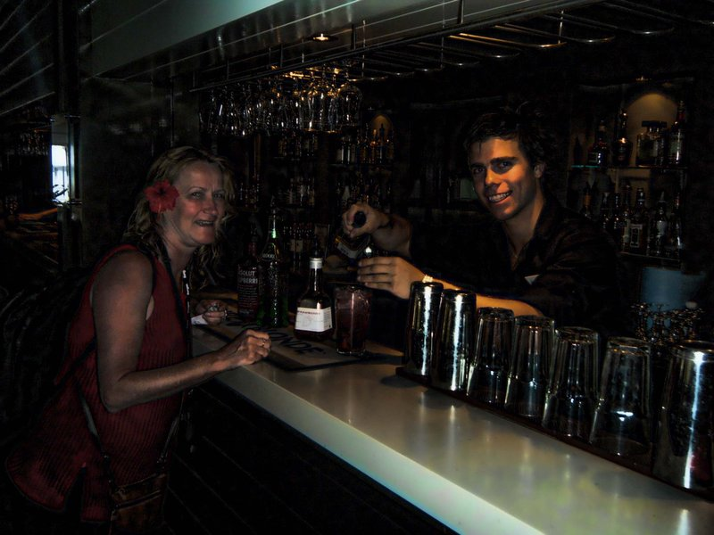 Hamilton Island - Me and Cocktail Waiter