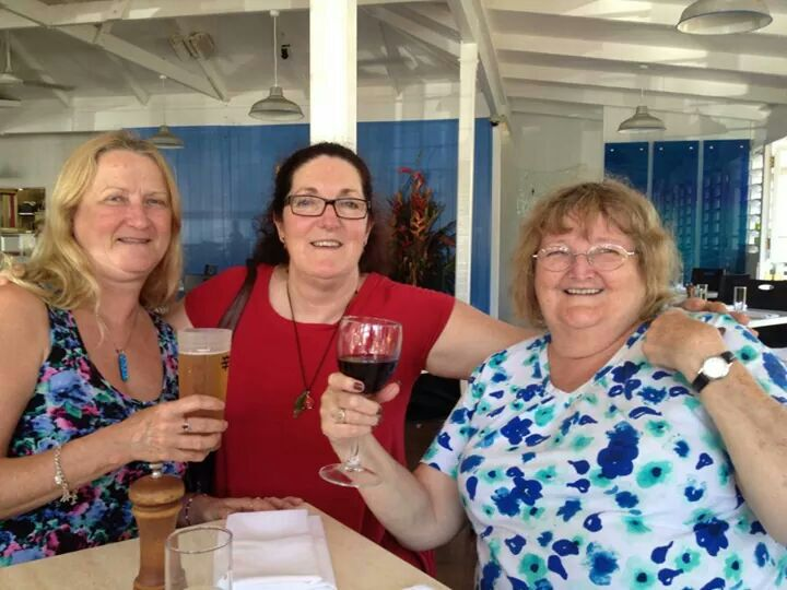 aussirose and friends in Cooktown QLD