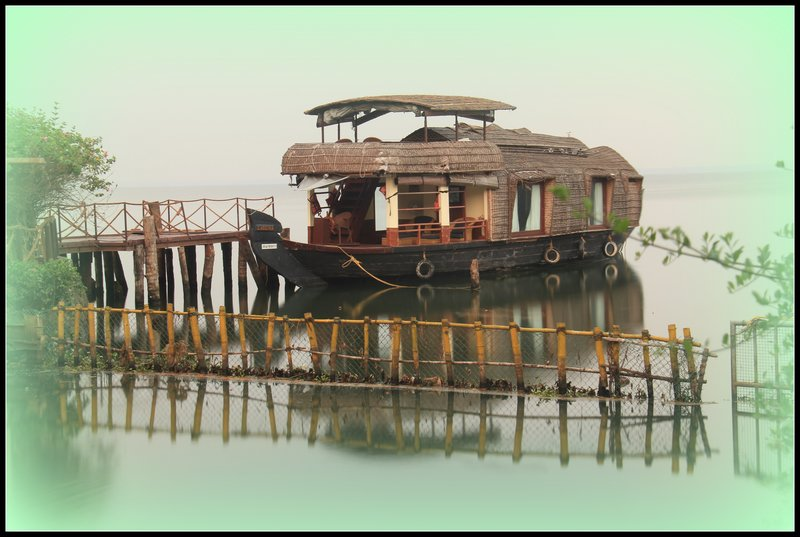 India - Kumarakom - Houseboat