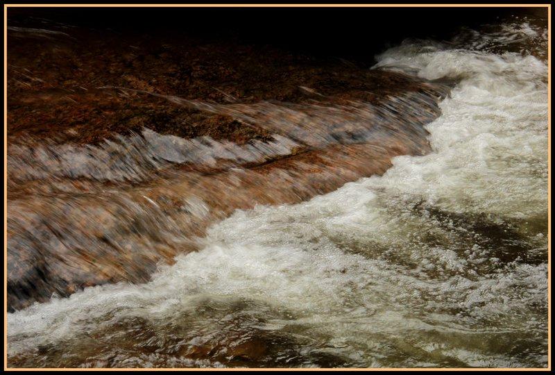 Malaysia - Cameron Highlands - Waterfall Rocks 1