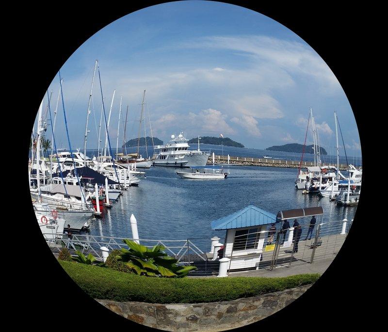 Malaysia - Kota Kimbalu Fisheye