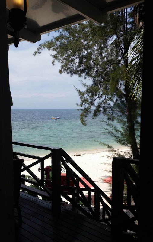 Malaysia - Manukan Island - Accommodation view