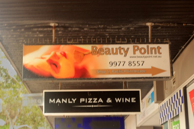 Manly - Funny Signs