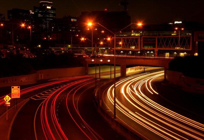 Night Car Trails 1