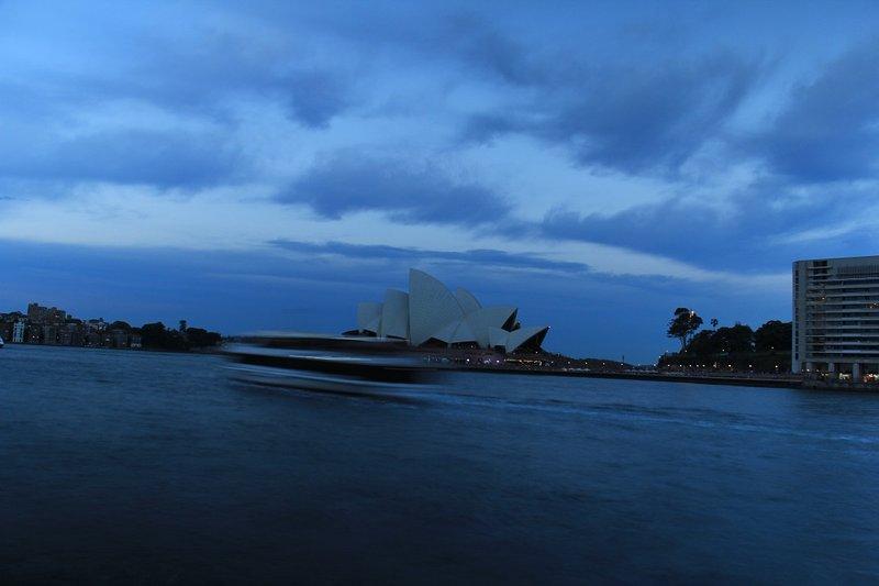 Opera House Dusk 2a