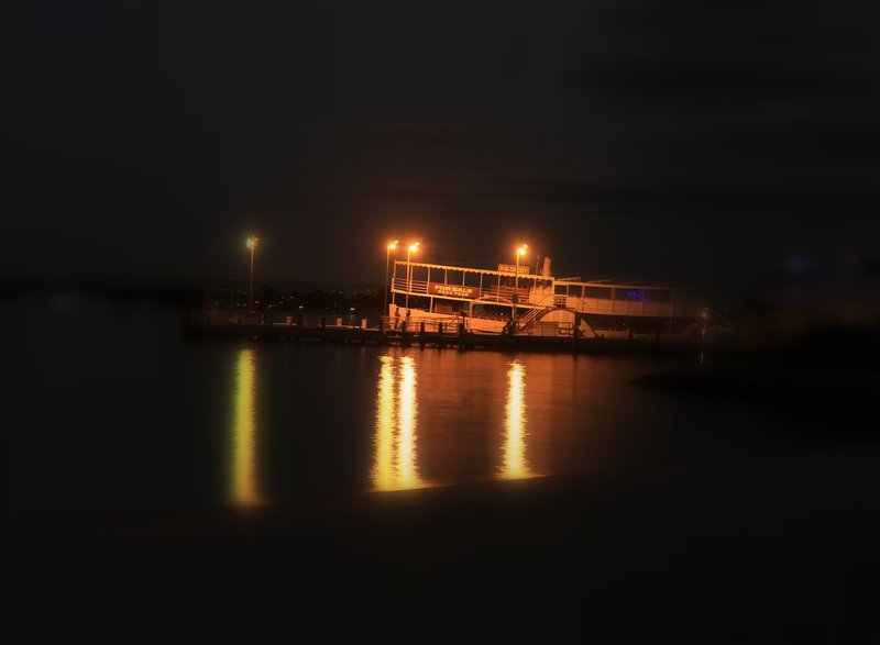 Perth Mends St Jetty Night Misty