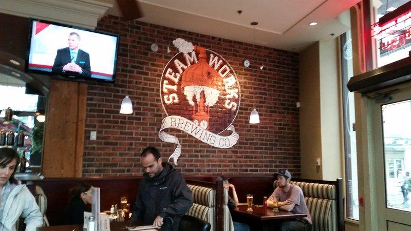 Steam Works Brewery 1