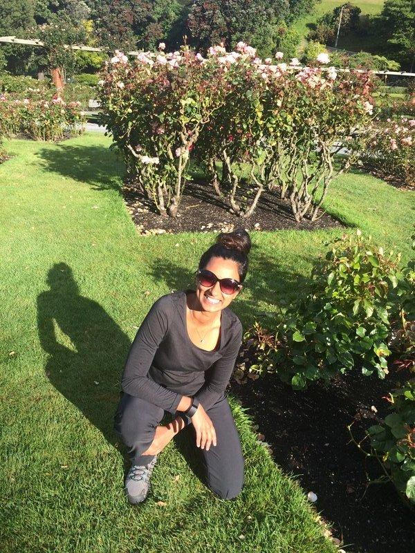 At Wellington Botanic gardens
