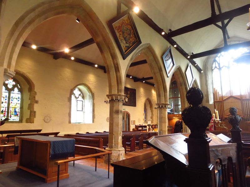 Interior of St Mary's church
