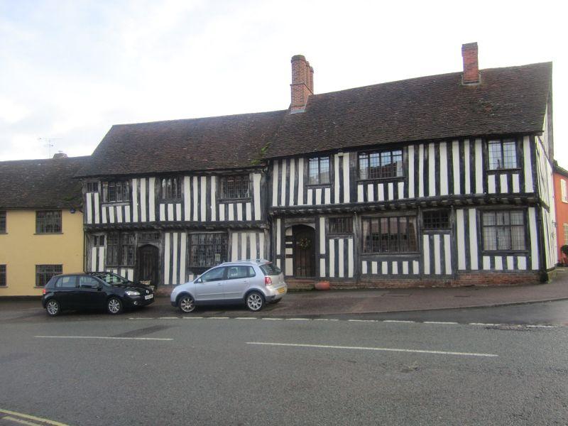 Buildings in Lavenham.