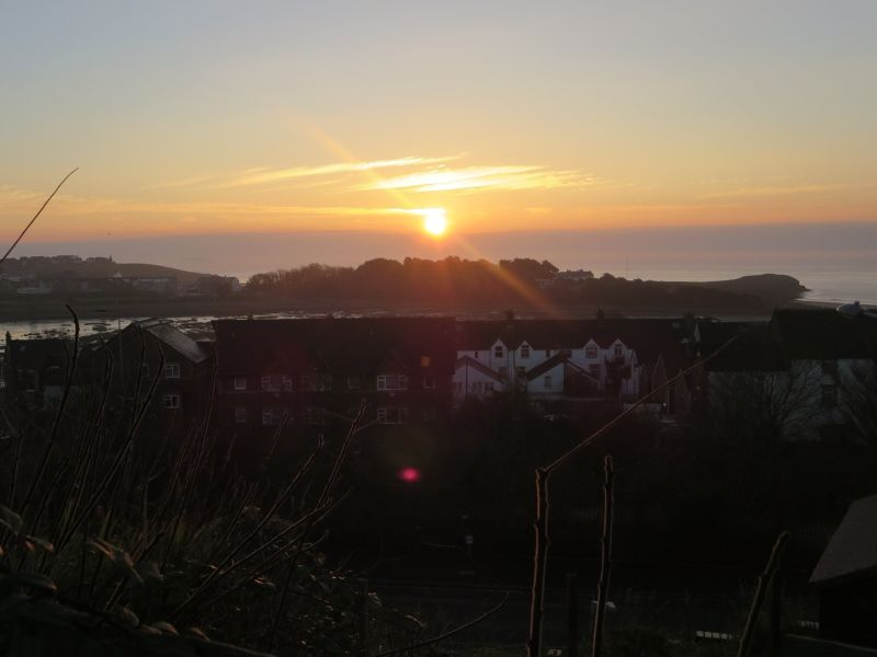 Sunrise over Barry Island