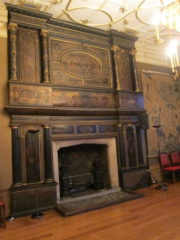 Fireplace in Great Chamber